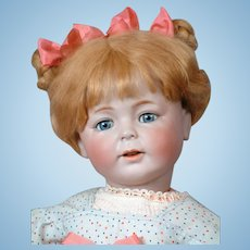 "24"" Super Rare Simon & Halbig 1489 Character Portrait Doll ""ERIKA"" with the Cutest Expression Circa 1912"