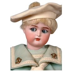 "Kammer & Reinhardt / Halbig Flirty Boy 15"" in Sailor Costume"