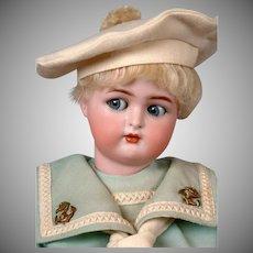 """Kammer & Reinhardt / Halbig Flirty Boy 15"""" in Sailor Costume"""