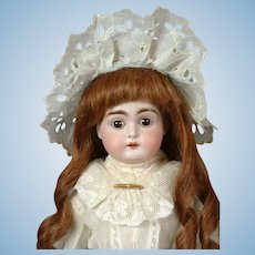 "Kestner 148 Antique Bisque Doll on Kidaline Body 16.5""-- Adorable!"