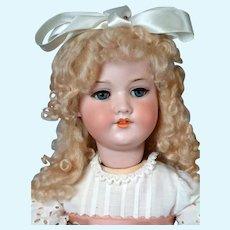 """Armand Marseille 390 Antique Bisque Walker Doll 26.5"""""""