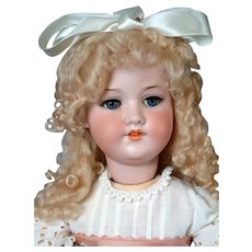 Armand Marseille 390 Antique Bisque Walker Doll 26.5""