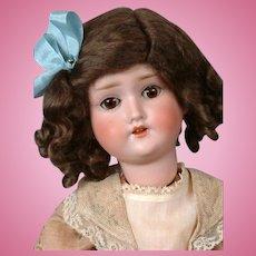 """Schoneau & Hoffmeister 1909 Antique Bisque Child Doll 16"""""""