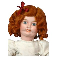"""Toto"" by Limoges Character Antique Bisque Walking Child Doll 14.5"""