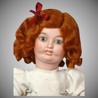 """""""Toto"""" by Limoges Character Antique Bisque Walking Child Doll 14.5"""""""