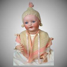 """Baby Vanta"" Louis Amberg Bisque Baby Doll 25"""