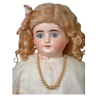 """Turned-Head Kestner with Paperweight Eyes with Jointed Arms 23.5"""""""