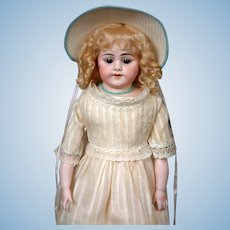 Simon & Halbig 1010 DEP Antique Bisque Doll 20""