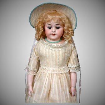 "Simon & Halbig 1010 DEP Antique Bisque Doll 20"""