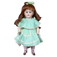 """9"""" All-Bisque 7547 Antique Cabinet Doll with Sleep Eyes"""