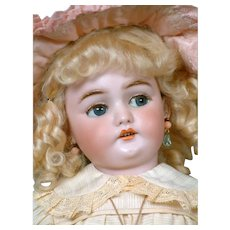 "RARE 19""  Simon & Halbig 1039 With Flirty Eyes For the French Market"