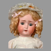 """Sweet Nell"" Alt Beck & Gottschalk 1362 Antique Bisque Child Doll 20"""
