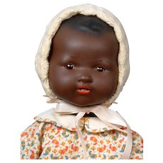 "Armand Marseille 351 Antique Black Character Baby 23"" DESIRABLE"