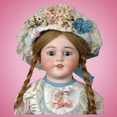 "Simon & Halbig 1250 ""Santa"" 26"" Antique Shoulderhead DEP Doll"