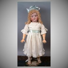 HUGE Simon & Halbig 1079 LIFE SIZED Antique Child Doll 36""