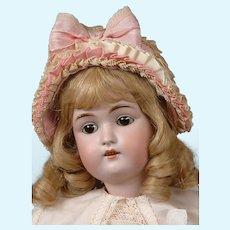 "Kestner 168 Antique Bisque Child Doll 22"" in Cute Costume"