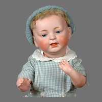 """Sammy"" Baby Character Doll 16"" Kestner 211 in Blue"