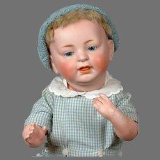 """""""Sammy"""" Baby Character Doll 16"""" Kestner 211 in Blue"""