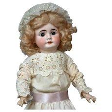 """18"""" German Sonneberg Bebe in Antique Whites"""
