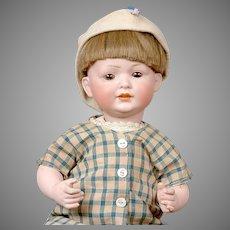 "Adorable 14"" Antique Bahr & Proschild German Character Baby 585"