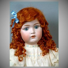 "Kestner 214 Antique Bisque Child Doll 28"" LIFE SIZE"