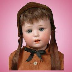 """Jutta"" 1914 Antique Bisque Character Boy Toddler Doll 11.5"""