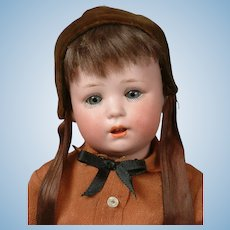 """Jutta"" 1914 Antique Bisque Character Boy Toddler Doll 11.5"""