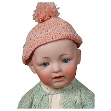 Kestner Character Solid Dome Baby Doll 17""