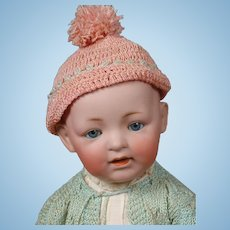 """Kestner Character Solid Dome Baby Doll 17"""""""
