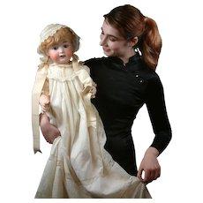 "Heubach Koppelsdorf 267 Antique Character Baby Doll 27"""