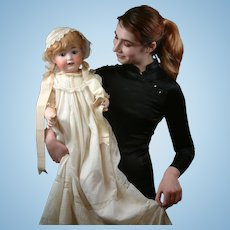 Heubach Koppelsdorf 267 Antique Character Baby Doll 27""