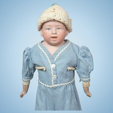 "Charming 15"" Gebruder Knoch Character Boy"