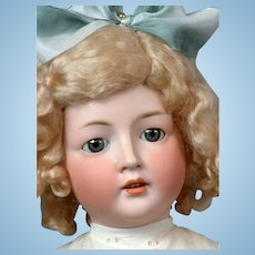 "Revalo Antique Bisque Child Doll 24.5"" in White"