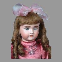 """Bahr & Proschild 275 Dep Antique with Blue Paperweight Eyes 24"""""""