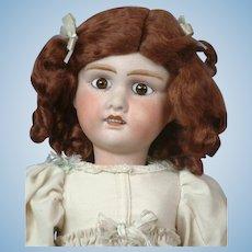 "Adorable 21"" Jules Verlingue ""Petite Francaise"" in White Dress"