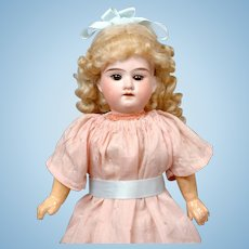 Darling Armand Marseilles 390 Girl in Sweet Pink Dress