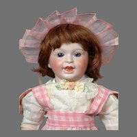 "RARE SFBJ 236 ""Laughing Jumeau"" Character French Toddler Doll 13.5"""