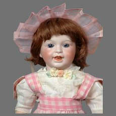 """RARE SFBJ 236 """"Laughing Jumeau"""" Character French Toddler Doll 13.5"""""""