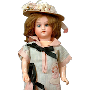 "Adorable 9"" Hermann Steiner Girl on Five Piece Body"