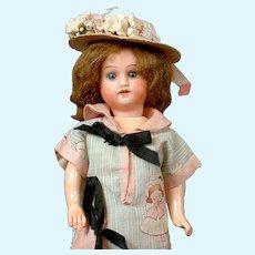 "Adorable 9"" Hermann Steiner Girl on Five Piece Body"
