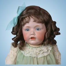 "Huge 22.5"" Beyond Adorable- RARE Kestner 'Hilda' Character Toddler  Doll circa 1914"