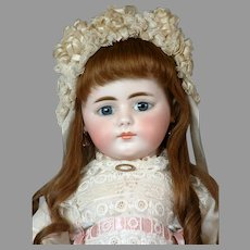 """Stunning 20"""" Rare Simon & Halbig Closed-Mouth 719 Child in Original Costume and wig"""