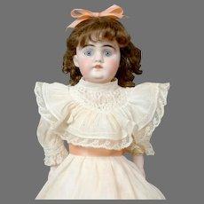 """Angelic 14"""" German Kidskin Kestner Dolly in Original Costume"""