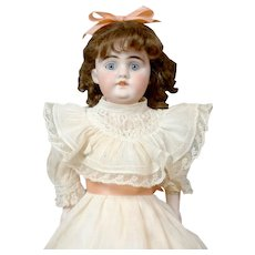 "Angelic 14"" German Kidskin Kestner Dolly in Original Costume"