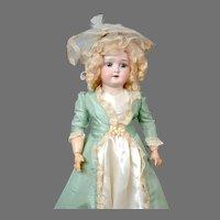 """Lovely 22"""" Schoenau & Hoffmeister Girl in Vintage Costume"""