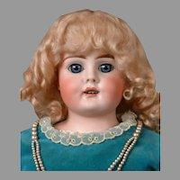 """RARE Bahr & Proschild 230 Antique Kidskin Shoulderhead Child Doll 25"""""""