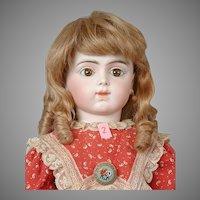"Gorgeous 11"" Strawberry Blond Human Hair Wig"