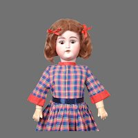 "Darling 21"" Schuetzmeister & Quendt ""My Sweetheart"" in Colorful Plaid Dress"