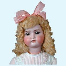 "Huge Kammer & Reinhardt / Simon and Halbig Antique Bisque Doll 31"""