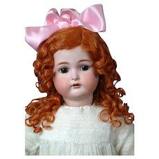 "Ginger Kammer & Reinhardt / Simon and Halbig Antique Bisque Doll 30"""